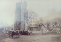Exterior of All Saints 1864 with cart (CH008).jpg