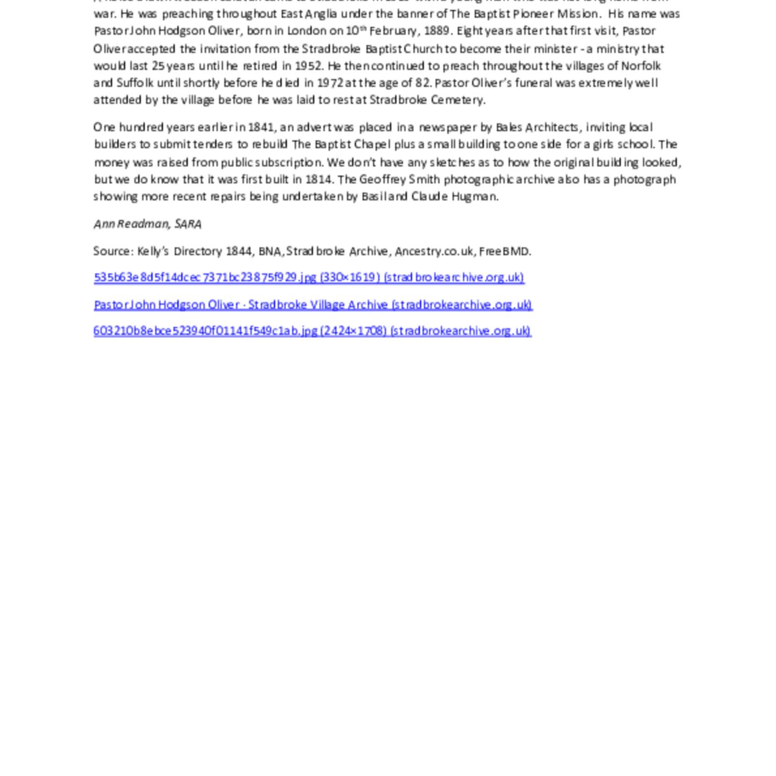 Pastor Oliver, Baptist Chapel.pdf